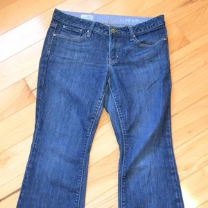 Gap jeans long and lean 28 6a 6 ankle
